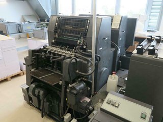 HEIDELBERG GTO 52 ZP Sheet Fed