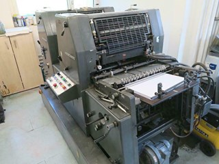 HEIDELBERG GTO 52 Z + Sheet Fed