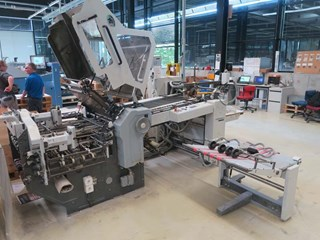 HEIDELBERG KD.2-66/4 KZ-FD-T Folding machines