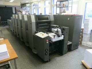 HEIDELBERG SM 52-5-P3+L Sheet Fed