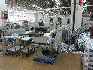 Perfecta P 115 TS Guillotines/Cutters