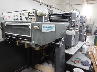 Heidelberg SM 72 ZP Sheet Fed