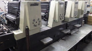 Printing machine Miller TP 74-4 Sheet Fed