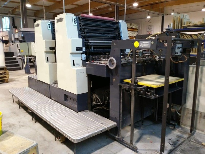 Show details for Printing machine Miller TP 74/2C