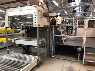 Bobst SP126 BMA Estampada en caliente