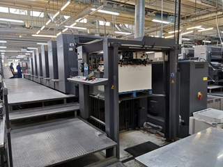 Heidelberg CD 102-5L Machines offset à feuilles
