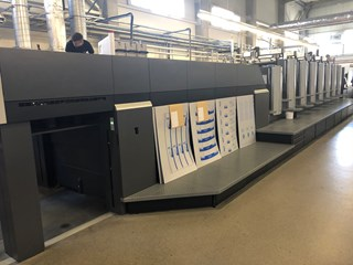 Heidelberg CX102-7LX Sheet Fed
