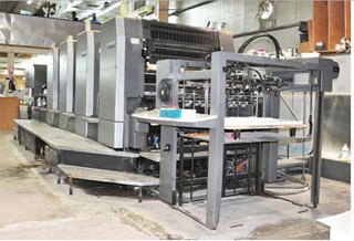 Heidelberg SM 102-4 Sheet Fed