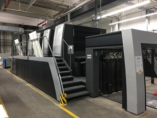 Heidelberg XL145-4 Sheet Fed