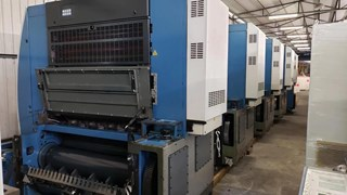 KBA Rapida 106-5L ALV2 Offset de pliegos