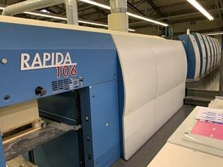 KBA Rapida 106-6L SIS SPC ALV2 CX FAPC Gebrauchte Bogenoffsetmaschinen