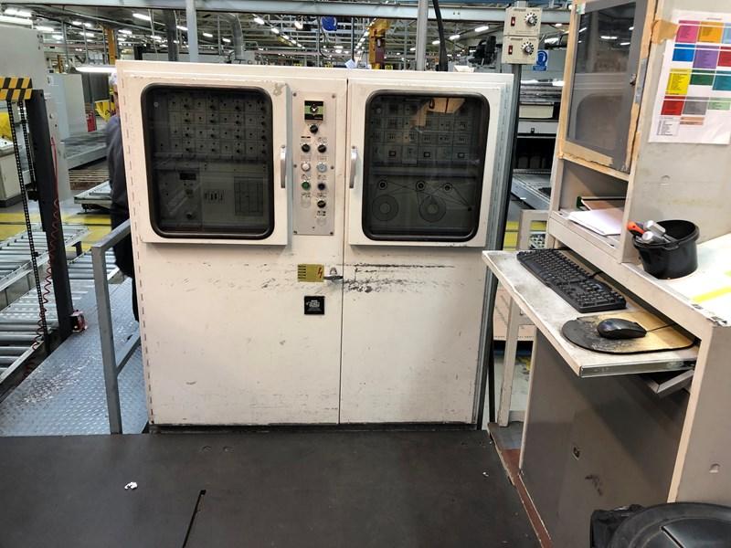 Bobst SP126 BMA