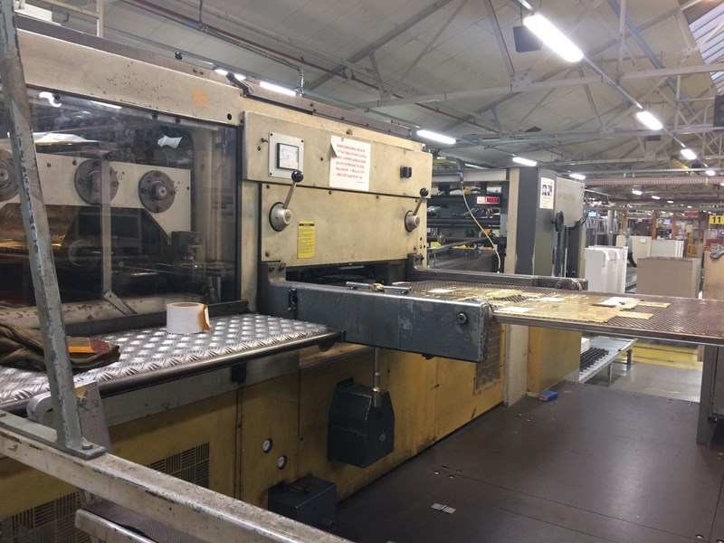 Show details for Bobst SP126 BMA