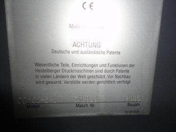Heidelberg CD 102-5LX