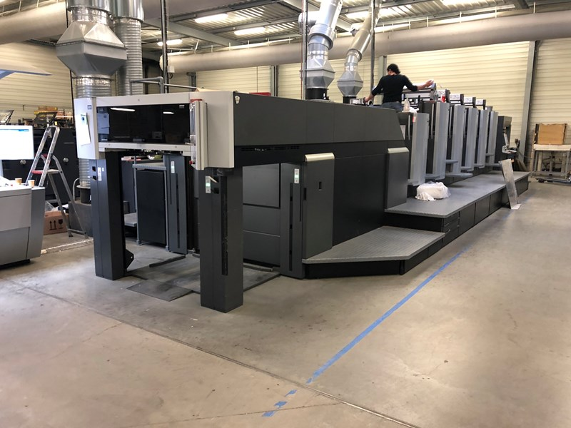 Show details for Heidelberg CX102-5LX LE UV