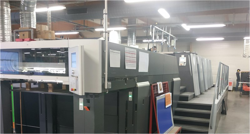 Show details for Heidelberg XL106-4LX