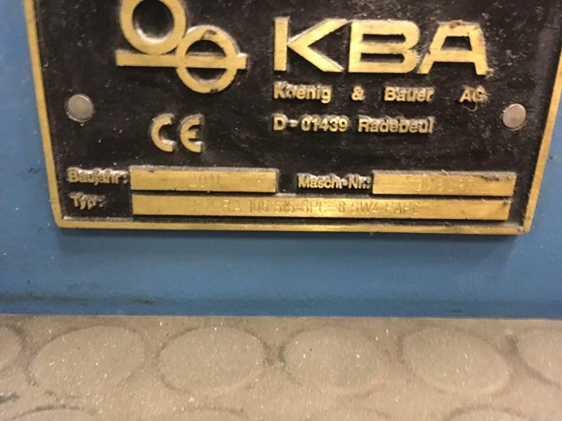 KBA Rapida 106 SIS - 8 - SW4