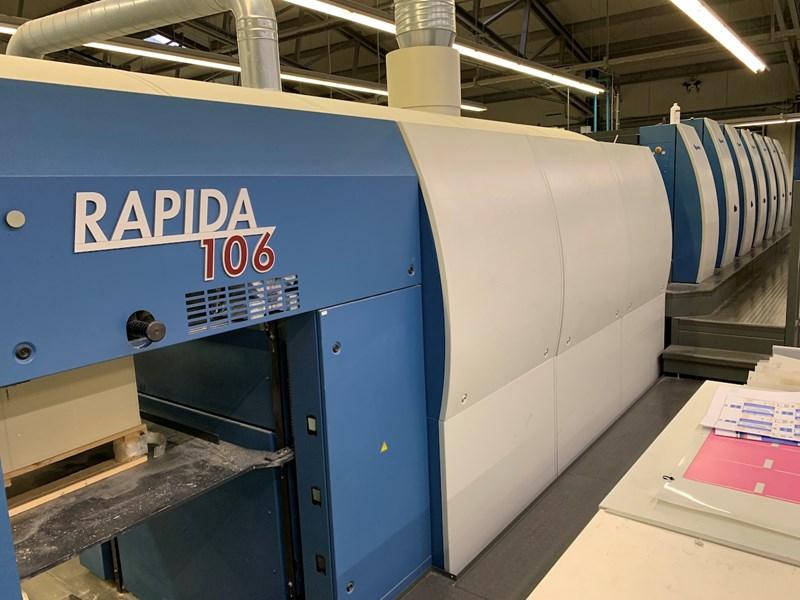 Show details for KBA Rapida 106-6L SIS SPC ALV2 CX FAPC
