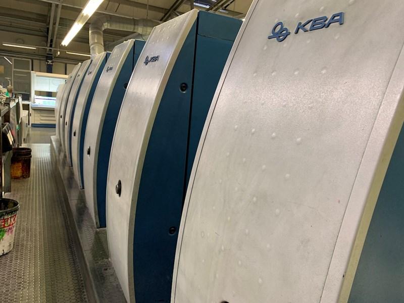 KBA Rapida 106-6L SIS SPC ALV2 CX FAPC