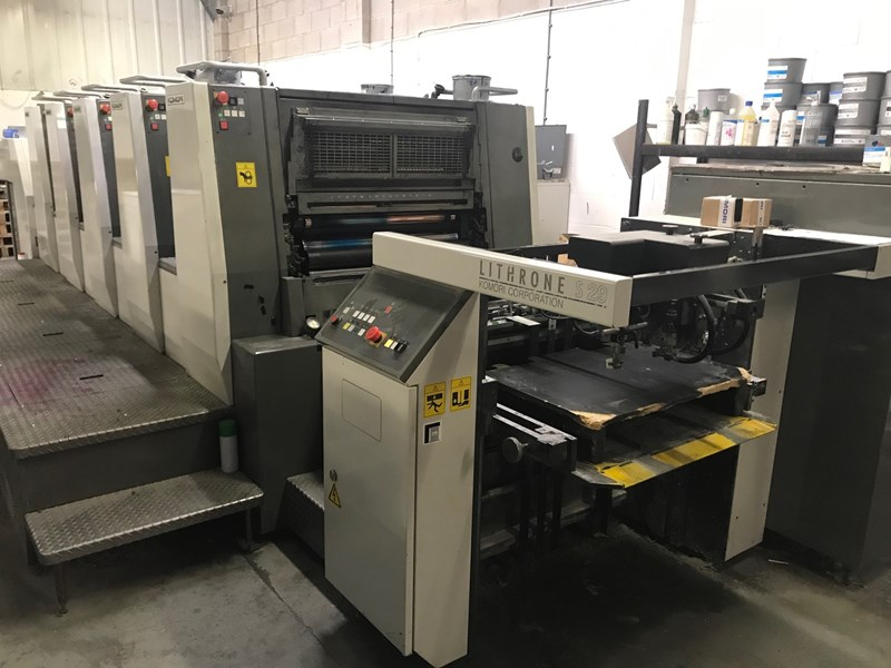 Show details for Komori Lithrone LS 529 EM