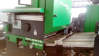 Billhöfer EK 102 - 50 MACHINES A PELLICULER ET CONTRE-COLLER
