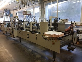 Bobst Media 100 Carton Gluers