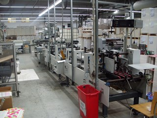 Bobst Media 68 Carton Gluers