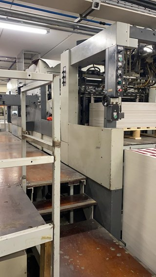 Bobst SP 102 CER Matic Die Cutters - Automatic and Handfed