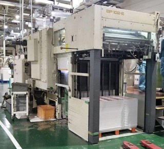 Bobst SP 102 E Die Cutters - Automatic and Handfed