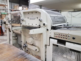 Bobst SP 1080E Die Cutters - Automatic and Handfed