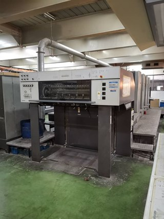 Heidelberg CD 102 4 Sheet Fed