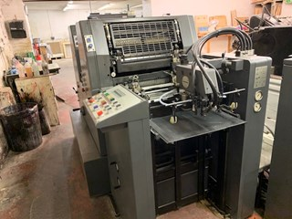 Heidelberg GTO 52 ZPS Sheet Fed