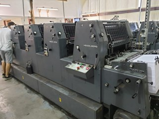 Heidelberg GTO 52 FP NP Sheet Fed
