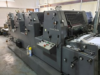 Heidelberg GTO 52 VP NP Sheet Fed