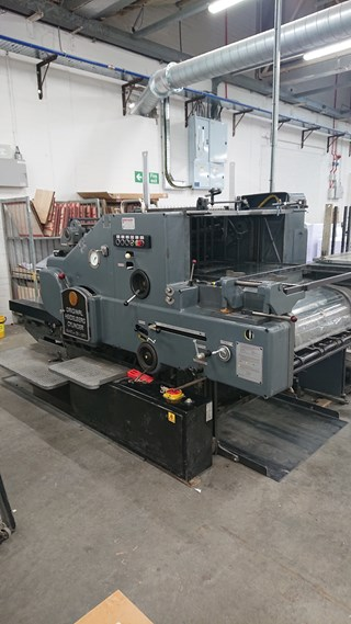 Heidelberg SBDS Die Cutters - Automatic and Handfed
