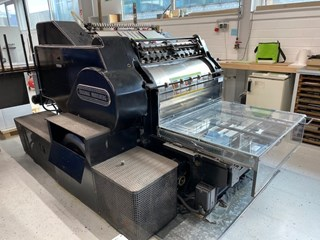 Heidelberg SBD Die Cutters - Automatic and Handfed