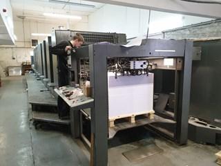 Heidelberg SM 102 8P Sheet Fed