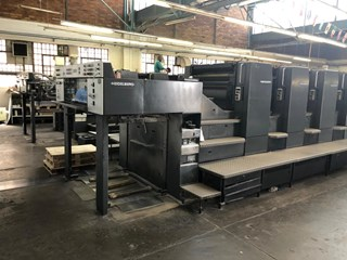 Heidelberg SM 102 8 P Sheet Fed