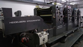 Heidelberg Speedmaster 72 V Sheet Fed