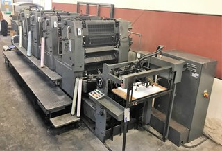 Heidelberg SM 72 V Sheet Fed