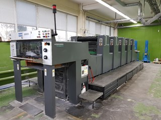 Heidelberg SM 74 5PH Sheet Fed