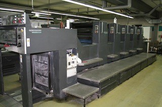 Heidelberg SM 74 5 PPH Sheet Fed