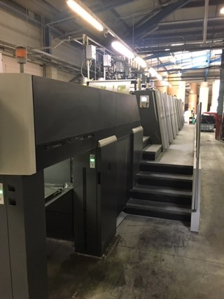 Heidelberg XL 106 8P Sheet Fed
