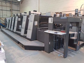 Heidelberg XL 75 5 P L C Sheet Fed