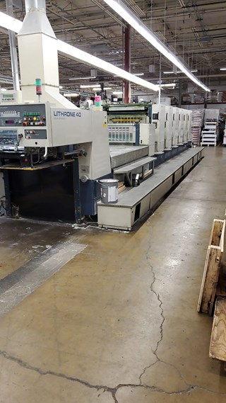 Komori L 640 CX Sheet Fed