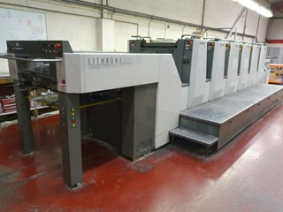 Komori Lithrone LS 626 Offset de pliegos