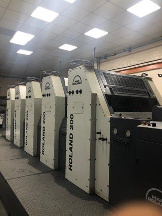 Manroland 205 Sheet Fed