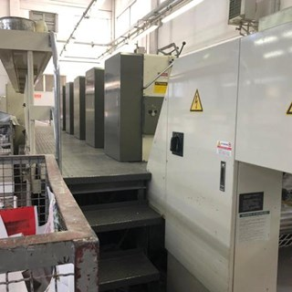 Mitsubishi 3 F 5 Sheet Fed