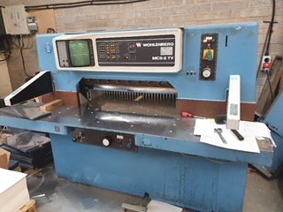 Wohlenberg 92 MCS-2 TV Guillotine Guillotines/Cutters