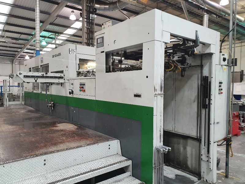 Bobst SP 104 ER Automatic Die Cutter
